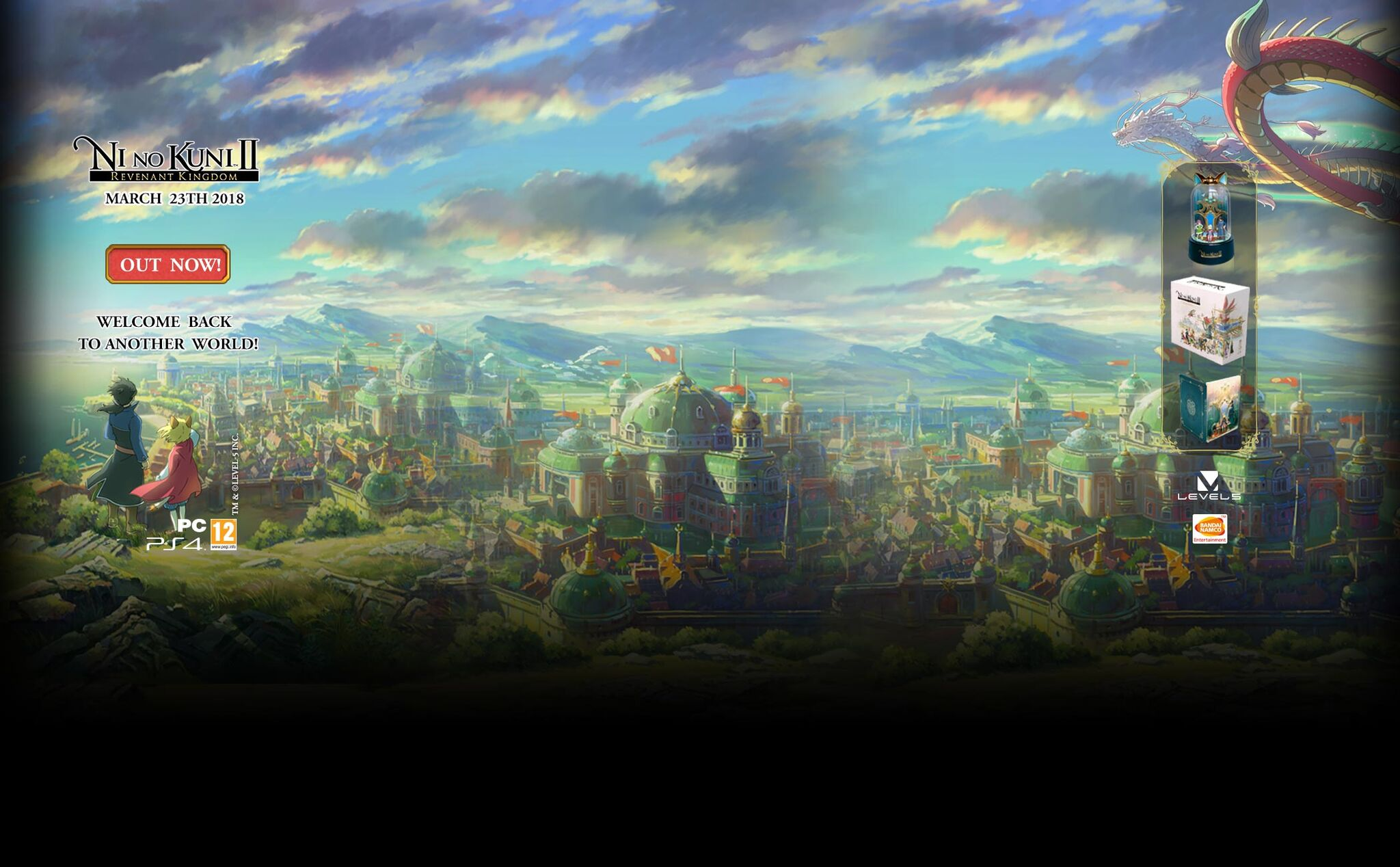 Background Skin Ad (Bandai Namco) - Ni No Kuni 2