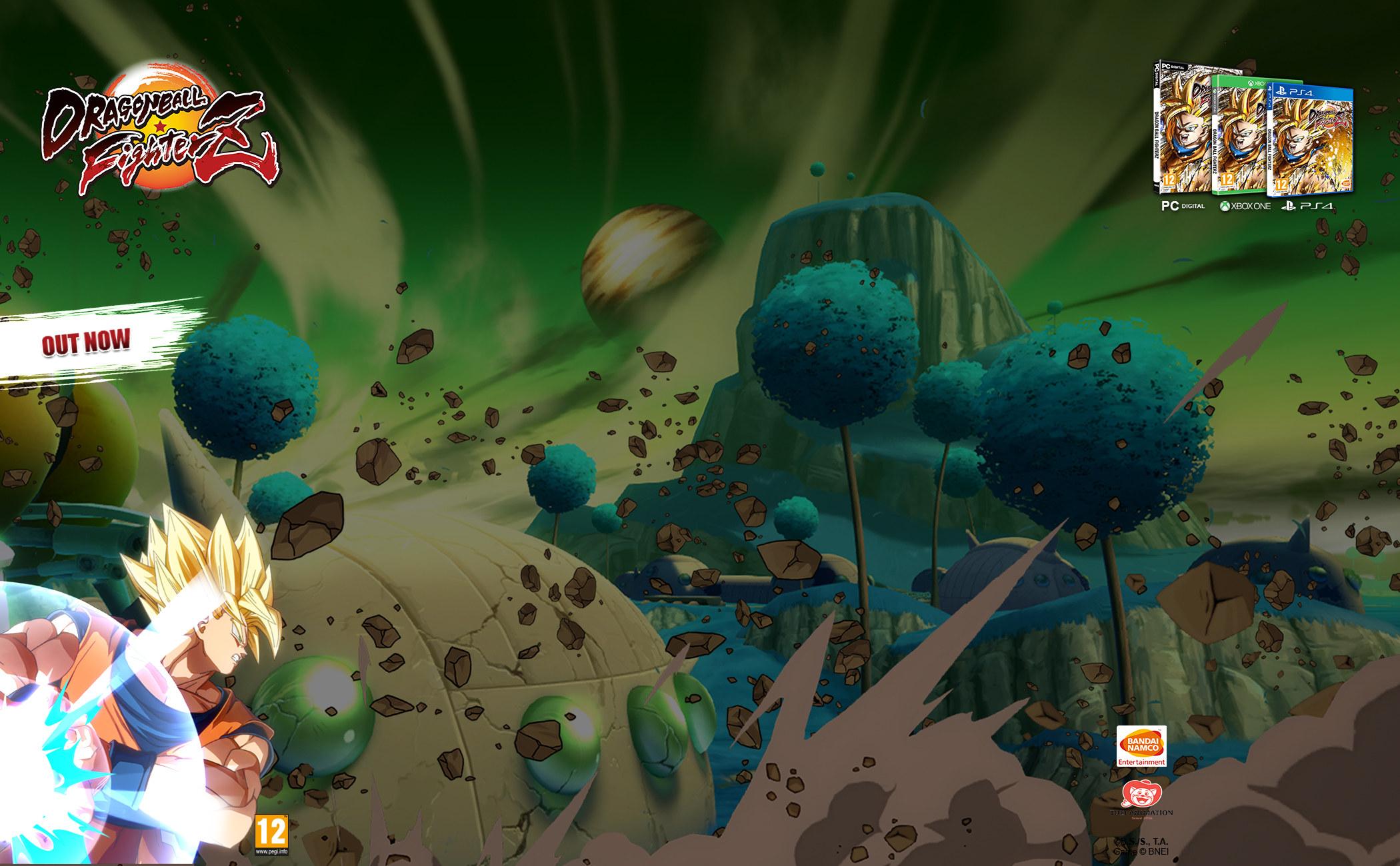 Background Skin Ad (Bandai Namco) - Πλαίσιο