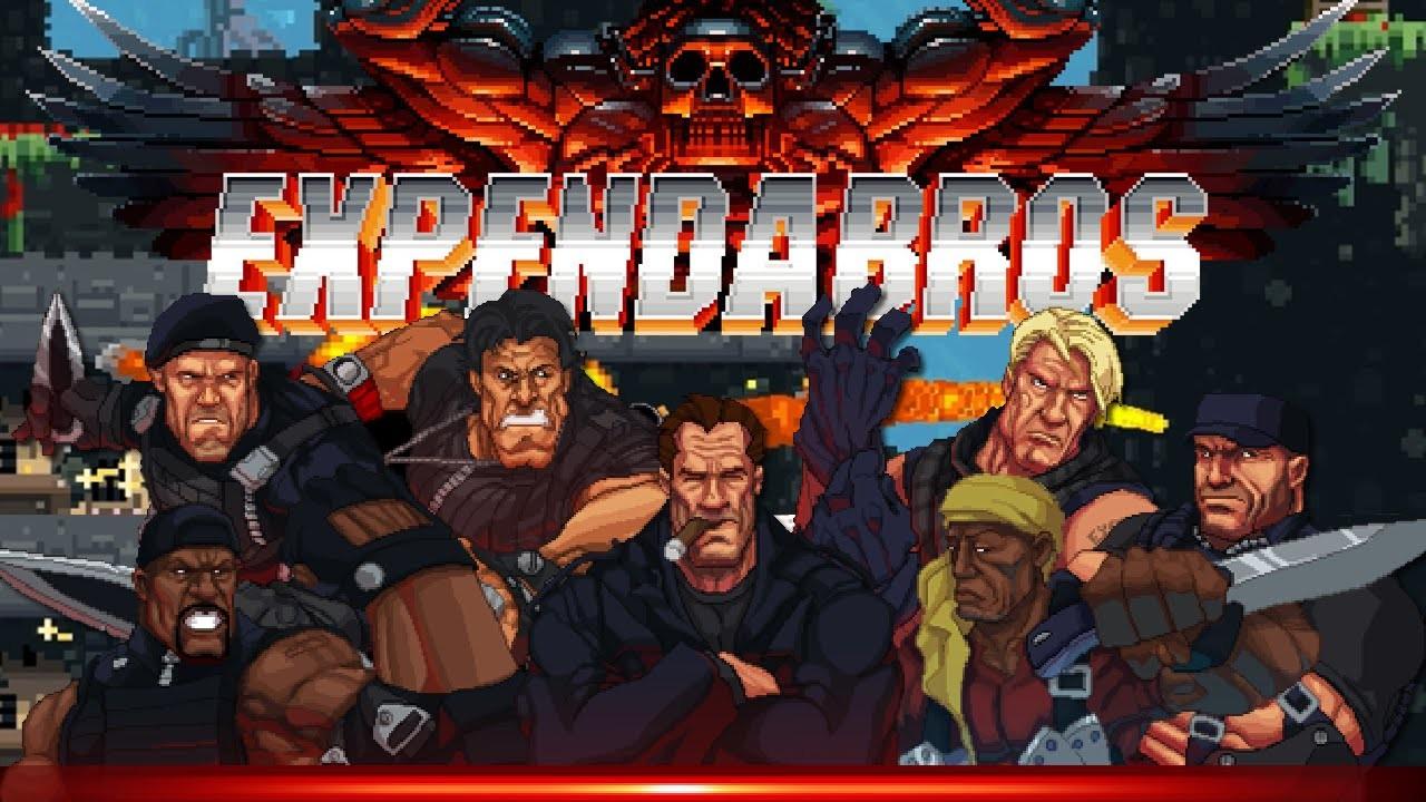 Οι «Αναλώσιμοι» στο Broforce: The Expendabros!