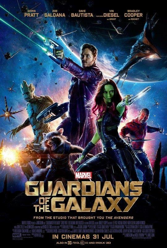 marvel guardian of the galaxy silk movie