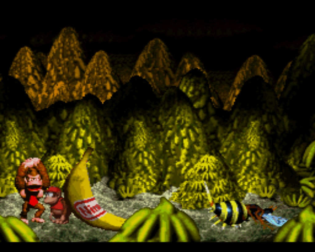 snes10 donkey kong country