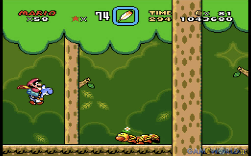 snes10 super mario world