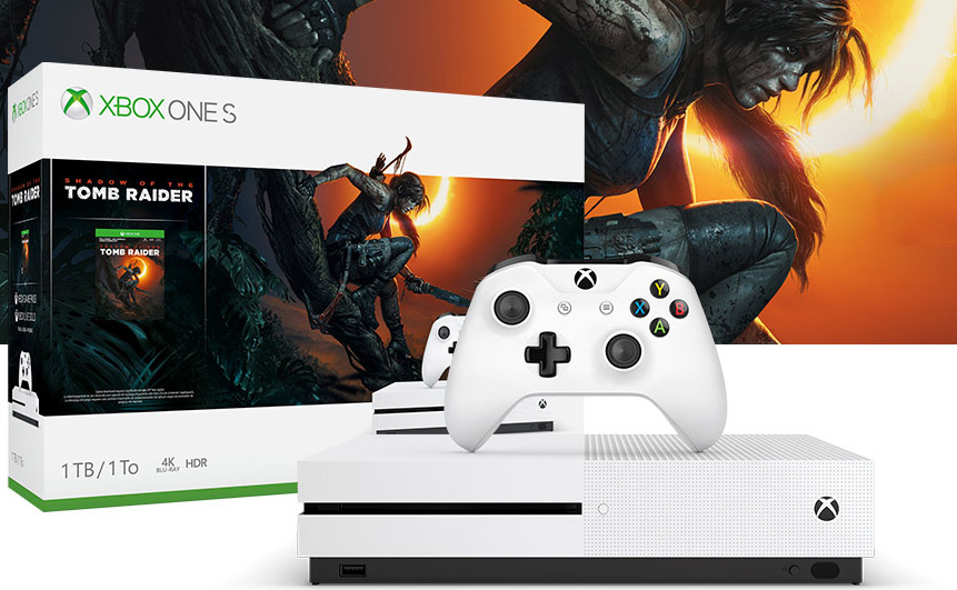 xbox one s shadow of the tomb raider bundle
