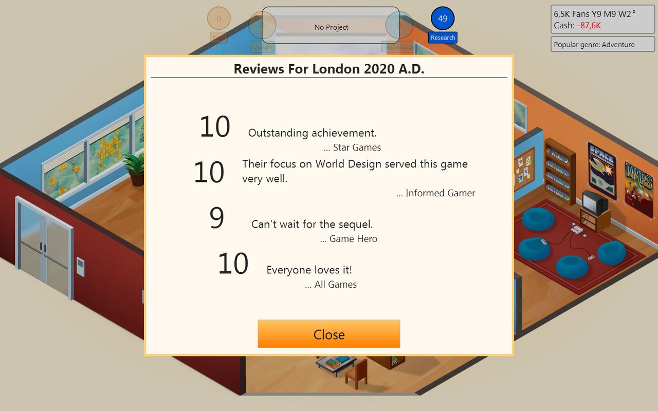 Το 10άρι ήταν πολύ mainstream για το συντάκτη του Game Hero