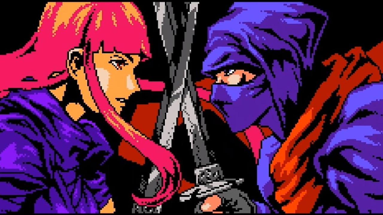 Ένα σύγχρονο 8-bit Ninja Gaiden.