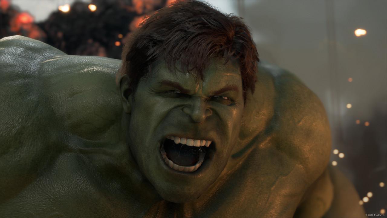 Hulk τσαντισμένος, Hulk σπάσει κεφάλι και παϊδι.