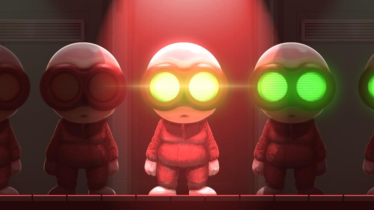 Κλώνοι και σκοτεινά δωμάτια γεμάτα από θανατηφόρα ρομπότ και κάμερες.