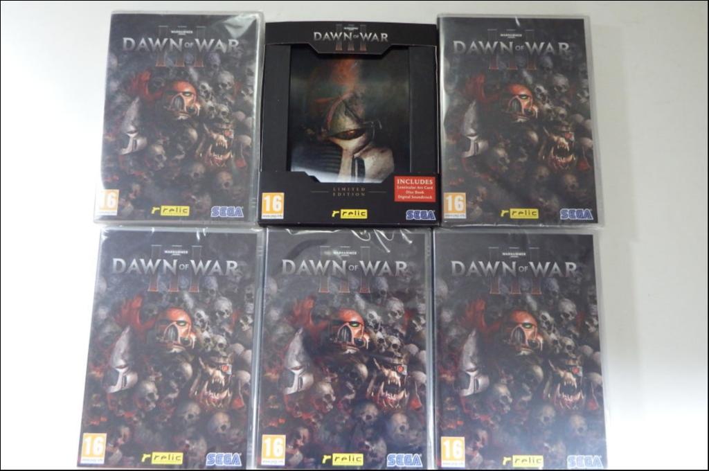 Warhammer 40K: Dawn of War 3 Limited και διαγωνισμός