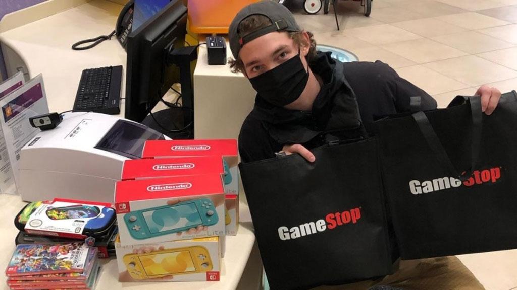 20χρονος που έβγαλε χιλιάδες δολάρια από τις μετοχές του GameStop αγόρασε κονσόλες Switch για Νοσοκομείο Παίδων