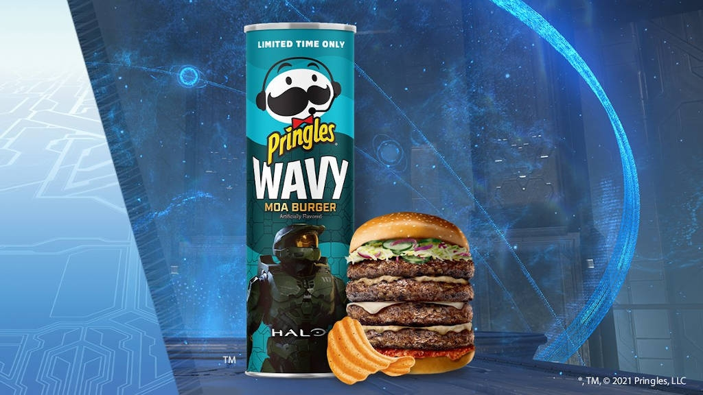 "Pringles με ""γεύση"" Halo Infinite"