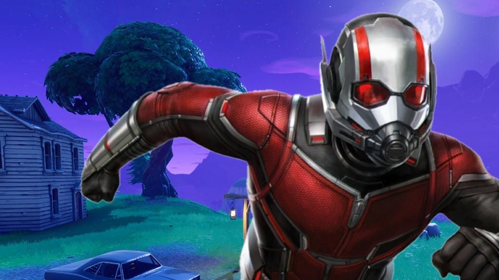 Φήμη: Το επόμενο character skin του Fortnite θα είναι ο Ant-Man