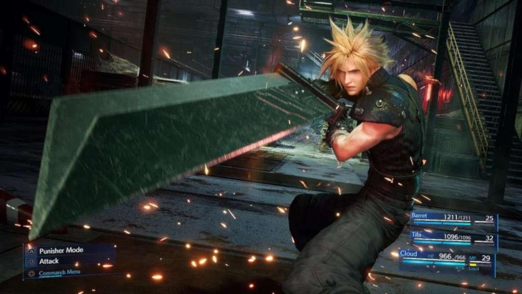 Final Fantasy VII Remake gameplay videos