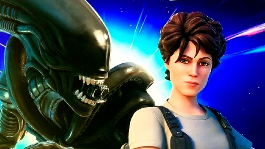 Crossover Fortnite με Alien