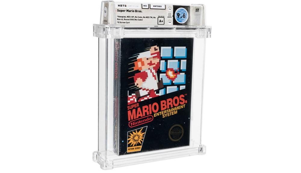 Το πιο σπάνιο αντίτυπο Super Mario Bros. πουλήθηκε για 660.000 δολάρια