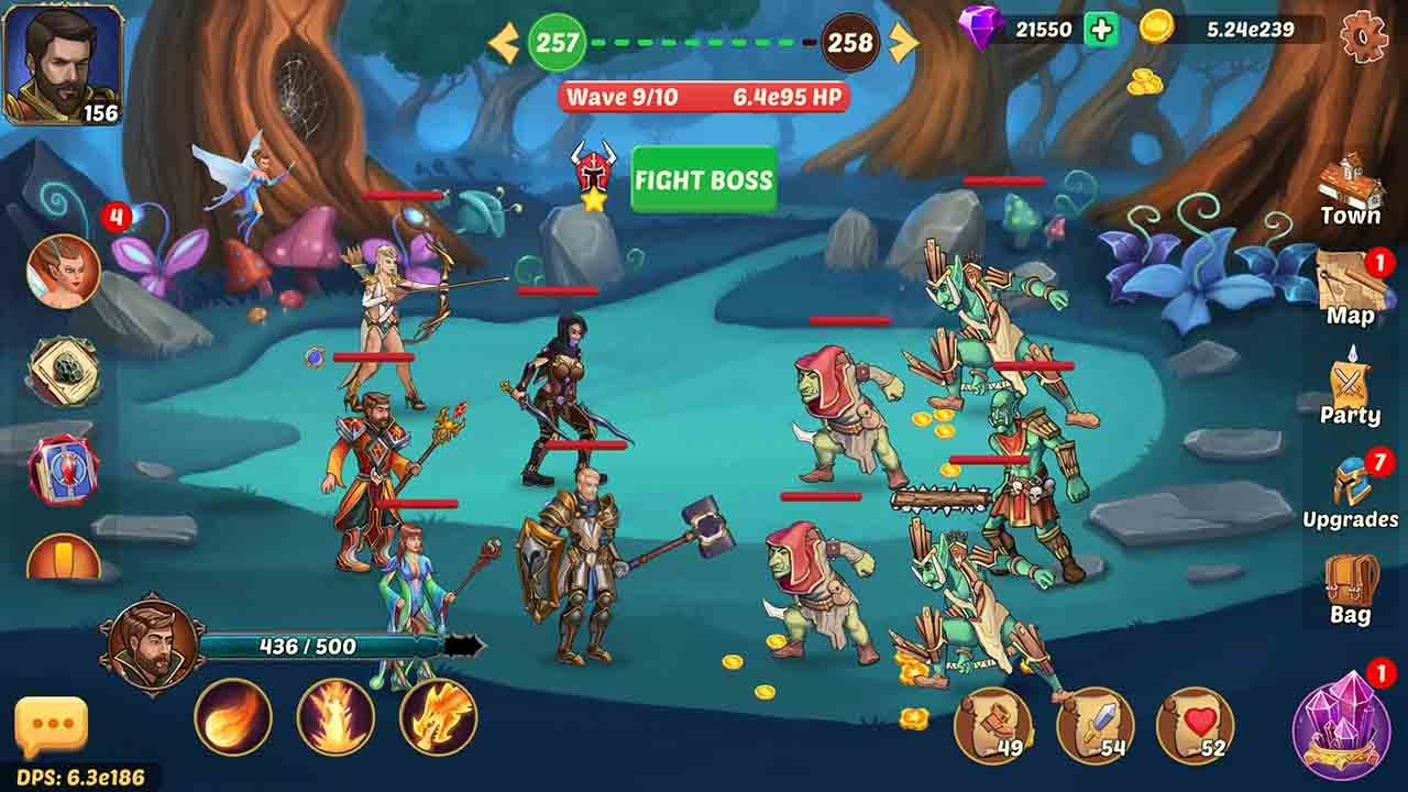 Firestone: Ελληνικό Idle RPG