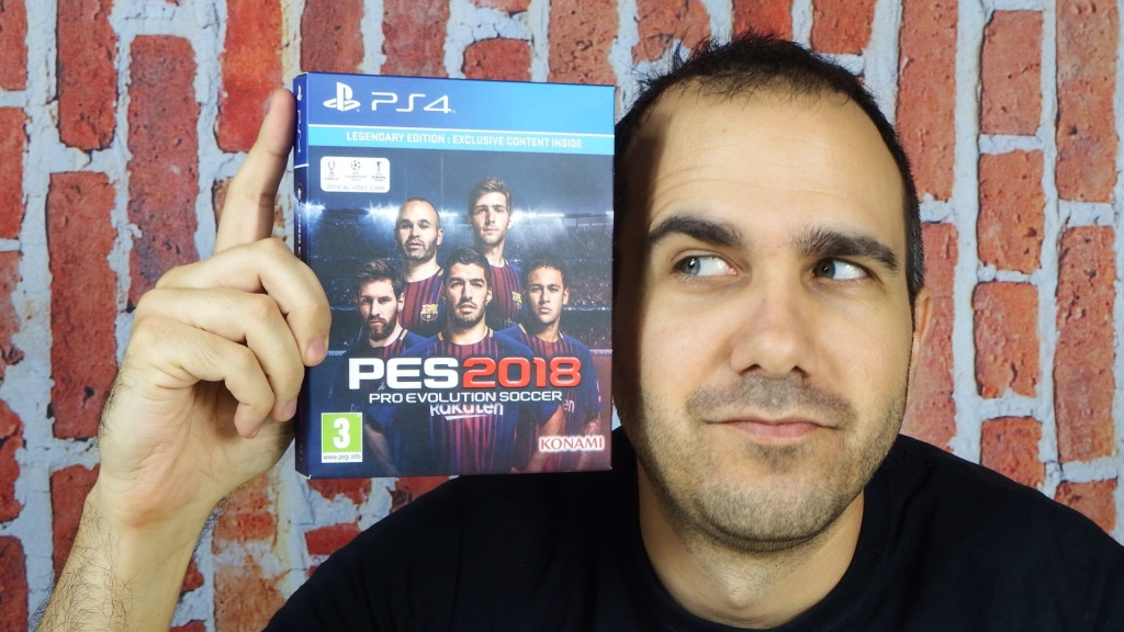 PES 2018 Legendary Edition και video review
