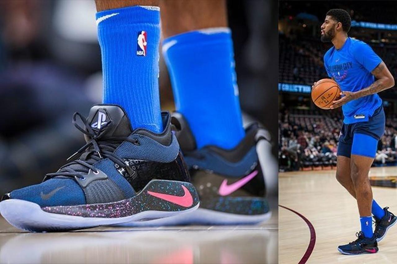 Συλλεκτικά παπούτσια του Paul George από την συνεργασία Nike και ... aacfe871511