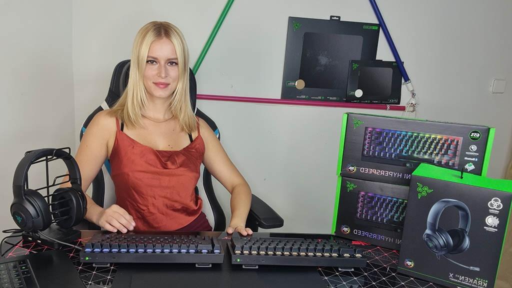 Razer Blackwidow V3 mini και Kraken V3 X reviews