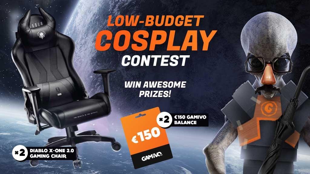 Διαγωνισμός cosplay με δώρο gaming καρέκλα Diablo και 150 ευρώ σε games