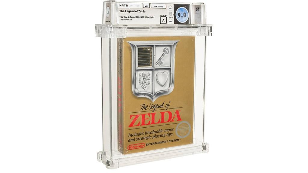 Συλλεκτικό The Legend of Zelda για NES πωλείται στα 110.000 δολάρια