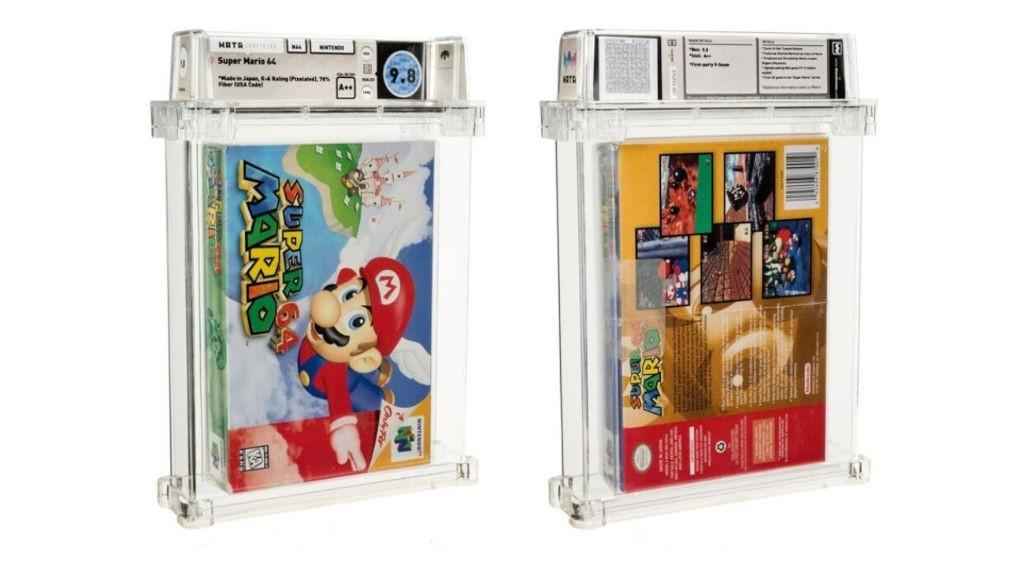 Σφραγισμένο αντίτυπο του Super Mario 64 πουλήθηκε για 1.500.000 δολάρια