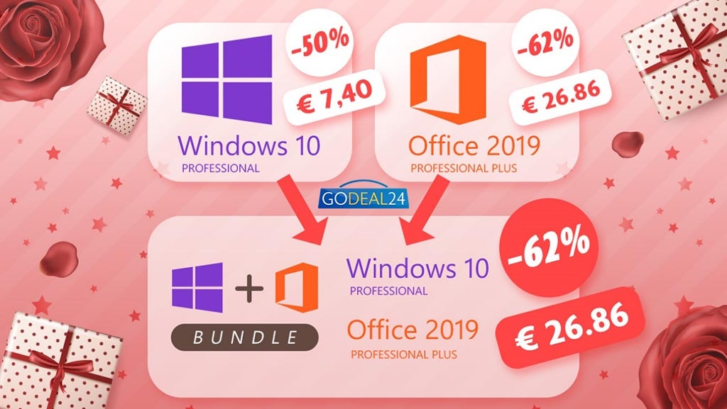 Προσφορές Windows 10 και Office 2019 για την Ημέρα της Γυναίκας