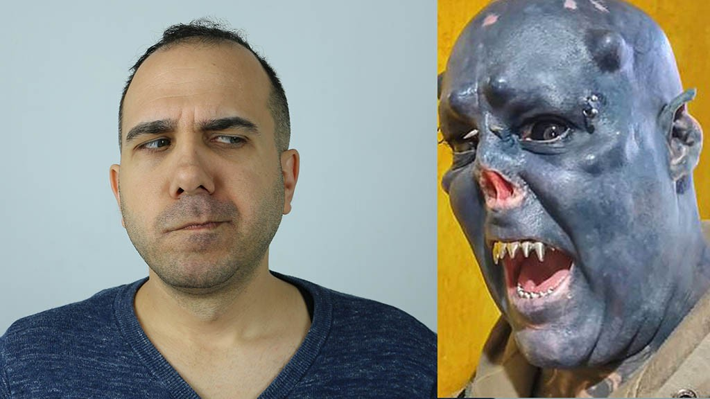 WTF News 21: Μεταμορφώθηκε σε Orc απ' το Lord of the Rings
