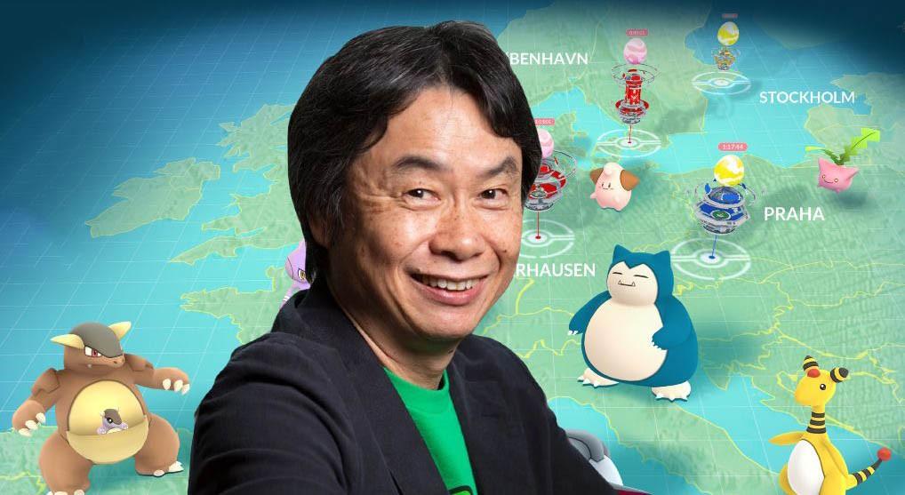 "Shigeru Miyamoto: ""Το να παίζω Pokemon Go ήταν ένα όνειρο που έγινε πραγματικότητα"""