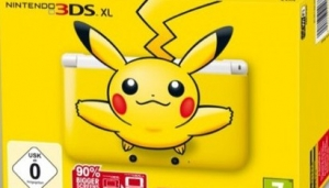 3DS XL Pikachu Limited Edition