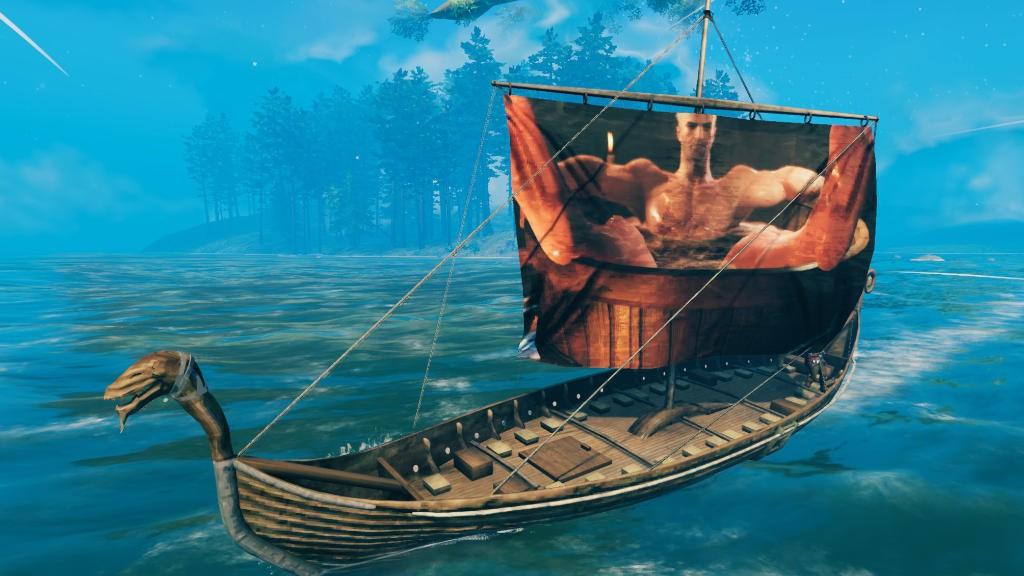 Valheim: Mod σας επιτρέπει να βάλετε οποιαδήποτε εικόνα στα πανιά των πλοίων