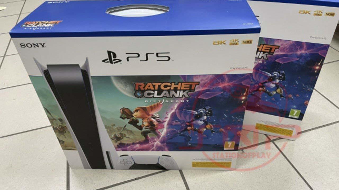 Η Sony κυκλοφορεί PS5 bundle με το Ratchet & Clank Rift Apart