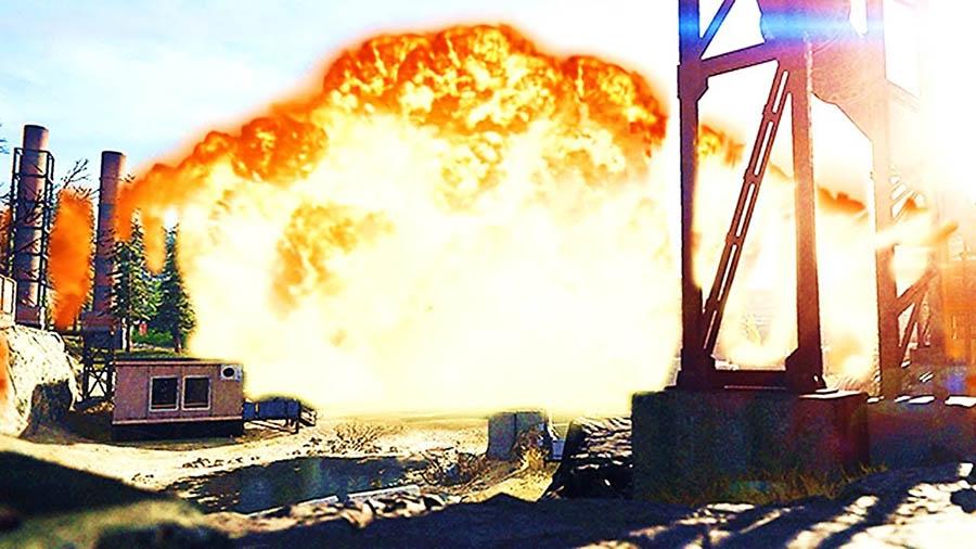 150 παίκτες του Call of Duty Warzone ανατινάσσουν κάθε όχημα για να crashάρουν το παιχνίδι