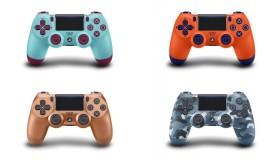 Τέσσερα νέα controllers για το PS4