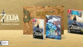 The Legend of Zelda: Breath of the Wild Explorer's Edition