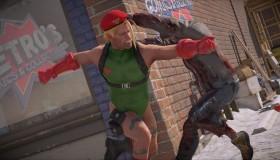 Dead Rising 4 στο PS4 με Street Fighter skins