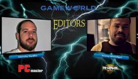 Αποστόλης Καραβίας και Αντώνης Μπαλαδήμας στο GameWorld.gr