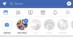 Facebook stories όπως και στο Instagram