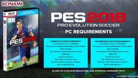 Pro Evolution Soccer 2018: Οι απαιτήσεις στα PC