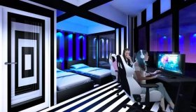 Esports Hotel E-Zone Cyberspace με high-end Gaming PCs