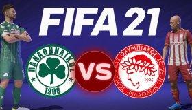 FIFA 21 gameplay: Παίζουμε το Παναθηναϊκός - Ολυμπιακός