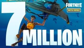 7 εκατομμύρια παίκτες για το Fortnite