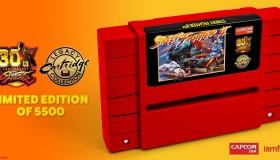 30 χρόνια Street Fighter: Επετειακό SNES cartridge