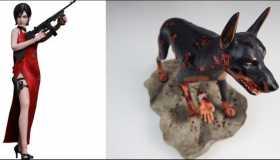 Φιγούρες Ada Wong και Zombie Dog