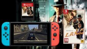Το L.A. Noire στο Switch είναι μεγαλύτερο απ' την χωρητικότητα της κονσόλας