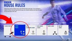 Στο Fifa 19: House Rules και Survival mode