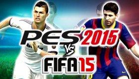 Live: Pro Evolution Soccer 2015 και Fifa 15