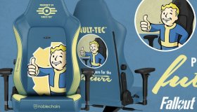 Gaming καρέκλες Fallout και DOOM αναμένεται να κυκλοφορήσουν το καλοκαίρι