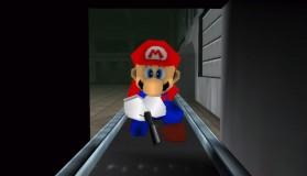 Golden Eye 007 με χαρακτήρες του Super Mario 64