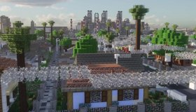 Greenfield: Μία πόλη στο Minecraft χτίστηκε σε 9 χρόνια από 400 άτομα