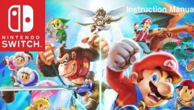 Fan-made βιβλίο οδηγιών για το Super Smash Bros. Ultimate